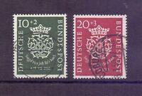 Bund 1950 - MiNr. 121/122 rund gestempelt Top-Qualität - Michel 100,00 € (298)