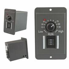 DC 12V 24V 36V 48V PWM Motor Speed Controller Reversible Switch 6A Regulator GT