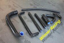 Silicone radiator hose kit Triumph GT6 1966-1973 1967 1968 1969 1970 1971 BLACK