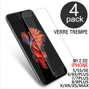 Glas Hartglas Schutzfolie Iphone-Bildschirm 8 7 6 Plus Se XR XS Max 11 Profi