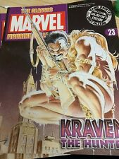 Classic Marvel Figurine Collection # 23 Kraven The Hunter + Magazine