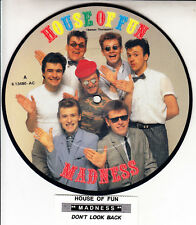 "MADNESS House Of Fun PICTURE DISC  7"" 45 record RARE! BRAND NEW + juke box strip"