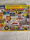 White Mountain BABY BOOMERS 1000 piece puzzle art by Charlie Girard COMPLETE