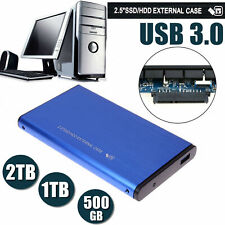 USB 3.0 Portable External Hard Drive Ultra Slim for Xbox One PS4 Mac Windows
