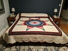 Beautiful Lone Star Quilt from Lancaster County Pennsylvania Free Shipping in US