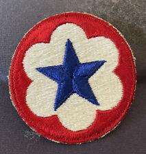 Vintage Original WWII US Army Service Forces (ASF) Shoulder Patch