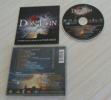 CD ALBUM DON JUAN UN SPECTACLE MUSICAL DE GRAY FELIX 15 TITRES 2004 + CLIP CDROM