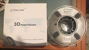 PRILINE Carbon Fiber Polycarbonate PC 1KG 1.75 3D Printer Filament Black