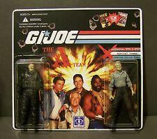 """Custom GI Joe figure set and package  """"Brains and Beauty""""  The A Team  (set # 1)"""
