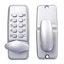 10 Code Keypad Digital Keyless Security Passcode Electronic Mechanical Door Lock