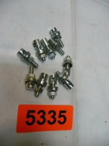 5335. 10 Stück Fahrrad Schutzblech Strebenbolzen Schrauben Schutzblechbolzen