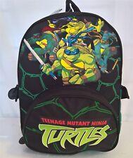 ~ TMNT Ninja Turtles - GENUINE LARGE SPORTS BACKPACK SCHOOL BAG LUGGAGE