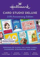 Hallmark Card Studio 2020 Deluxe Software gift and greeting Cards