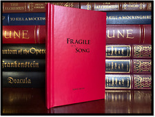 Fragile As A Song ✎SIGNED✎ by TONY LEVIN New Hardback King Crimson Peter Gabriel