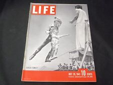 1941 JULY 28 LIFE MAGAZINE - CIRCUS FAMILY FRONT COVER - GREAT ADS - O 6559
