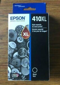 Epson 410XL BLACK Ink Cartridge 1-Pack T410XL020-S/T7410XL020-CP BRAND NEW