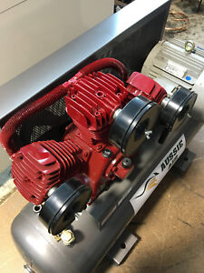 Air Compressor Australian made 260L 52CFM 1130FAD 415V Cast Iron Pump 3 Phase