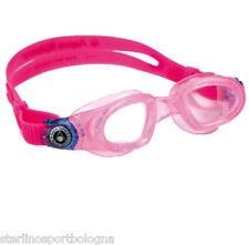 Occhialini AQUASPHERE MOBY FUXIA Lente Clear Swim Nuoto Goggles
