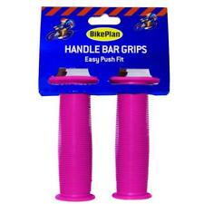 Bike Plan Handlebar Grips MTB BMX Cycle Handle Bar Covers - Pink Bicycle Grips