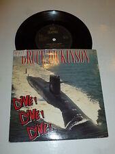 "BRUCE DICKINSON - Dive! Dive! Dive! - 1990 UK 2-Track 7"" Vinyl Single"