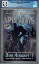 CGC 9.8 MARVEL PREVIEWS SPECIAL DARK REIGN EDITION NN 1ST AD SHURI BLACK PANTHER
