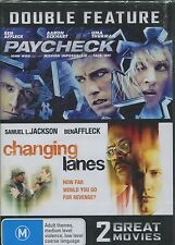 PAYCHECK & CHANGING LANES - BEN AFFLECK DOUBLE FEATURE - DVD