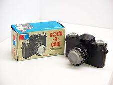 Circa Mid-1960's Tupperware Toys Tupper-Toys Code-A-Coin Camera Bank In Box