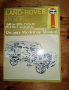 Land Rover Series 2 2A 3 Haynes Owners Workshop Manual