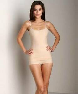 NWT Nearly Nude Thinvisible Smoothing Camisole Toasted Almond Small