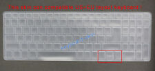 Keyboard Silicone Skin Cover Protector for Acer F5-573G F5-573 K50-20 V5-591G