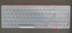 Keyboard Skin Cover Protector for Acer A515-51G A515-52 A615-51G A715-71 A717-71