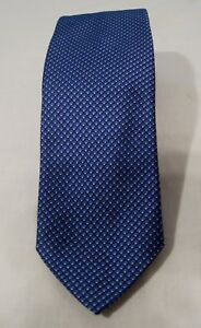 Polo Ralph Lauren 100% Silk Tie NWT Royal Blue Made in Italy