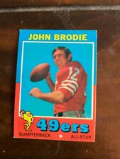 1971 TOPPS FOOTBALL STARS BRODIE GARRISON HART TAYLOR OTHERS YOU CHOOSE