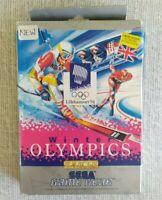 Sega Game Gear Winter Olympics CIB 1994 Boxed w/ Manual vgc