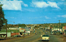 Show Low,Arizona,Highway 60,Gas Stations,Navajo County,c.1950s