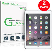 2 PACK Tempered Glass Screen Protector For Apple iPad Mini 1 2 3