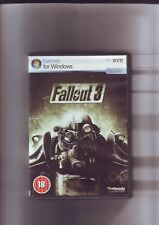 FALLOUT 3 - PC GAME - FAST POST - ORIGINAL & COMPLETE WITH MANUAL