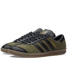 Adidas  Hamburg +VERY RARE+ Wool Felt/Black Leather Mens 9.5 samba spezial trimm