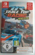 NEU NINTENDO SWITCH SPIEL TR TABLE TOP RACING Nitro Edition Game Code in Box
