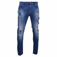 DIESEL SPENDER-NE Mens Denim Jeans Stretch Slim Fit Skinny Casual Blue Pants
