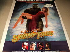 RETURN OF THE SWAMP THING / ORIIG. 27 X 40 SINGLE SIDED POSTER/ HEATHER LOCKLEAR