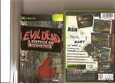 EVIL DEAD FISTFUL OF BOOMSTICK XBOX / X BOX 360 RARE 18