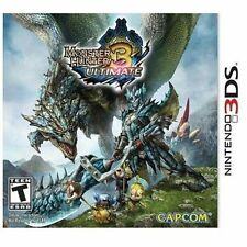 Monster Hunter 3 Ultimate (Nintendo 3DS, 2013)