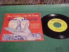 RARE MOVIE MUSIC 45 TOM THUMB RUSS TAMBLYN BOSCO MILK