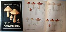 MUSHROOMS of ESTONIA. INOCYBE, rare illustrated book 1987