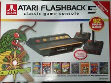 Atari Flashback 5 Classic Game Collector's Edition Black & Red Console