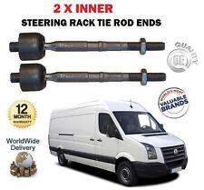 FOR VOLKSWAGEN VW CRAFTER  2006--> NEW 2 X INNER STEERING RACK TIE ROD END SET