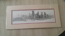 """The Point Pittsburgh PA"" By Contemporary Artist Nevin Robinson Signed Print"