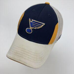 St Louis Blues Reebok Youth Ball Cap Hat Fitted Baseball Hockey