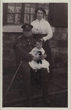 WW1 Sergeant The Kings Liverpool Regiment with Wife & Toddler